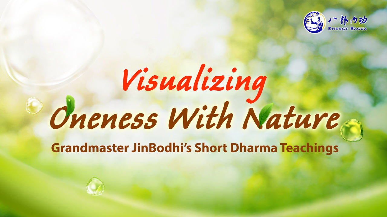 How to visualize oneness with Nature?